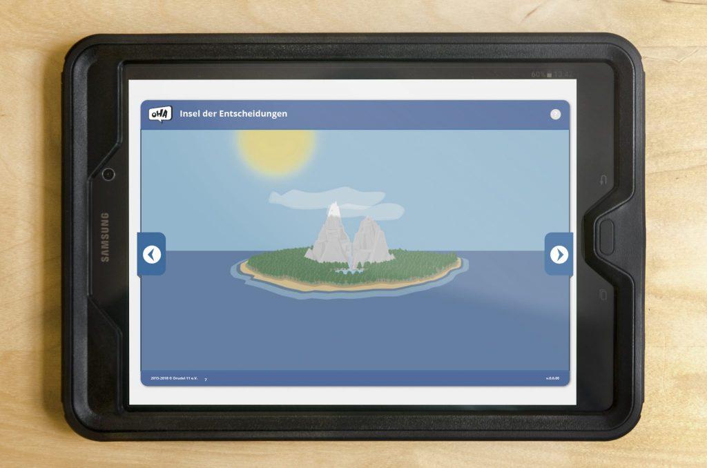 Tablet - Insel der Entscheidungen