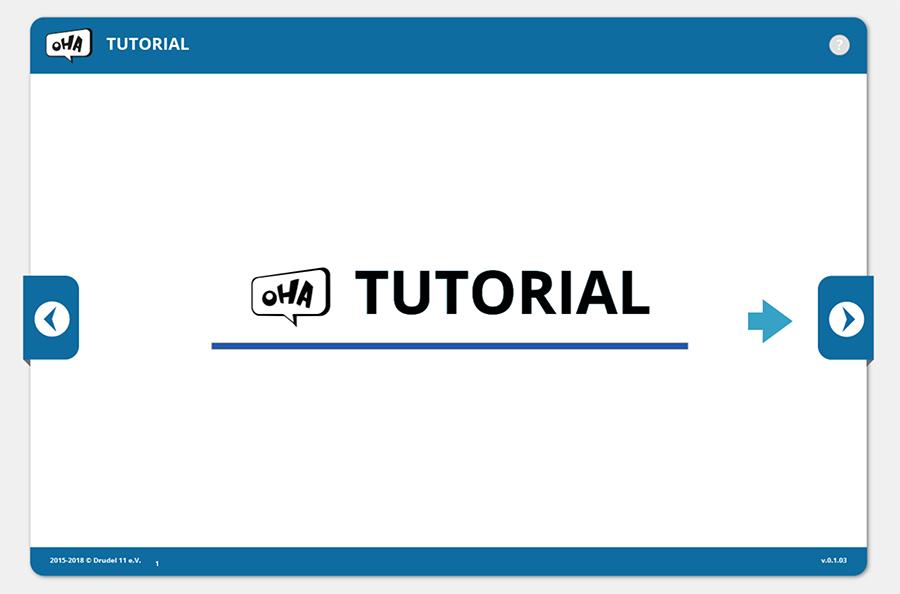 Bild zur Verlinkung der Übung Tutorial - OHA Online Hass Abbauen